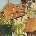 Paul MASCART (1874-1958)</a></p> <p><em>L'Hôtel Normandy</em></p> <p>h/t - sbd - 46 x 55 cm